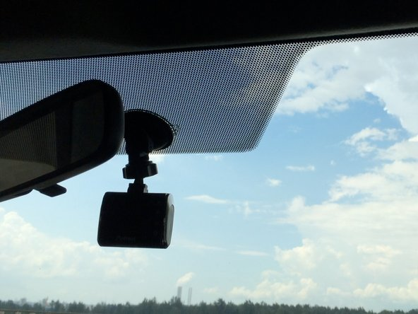 Plunge the camera with the suction cup to your preferred point.