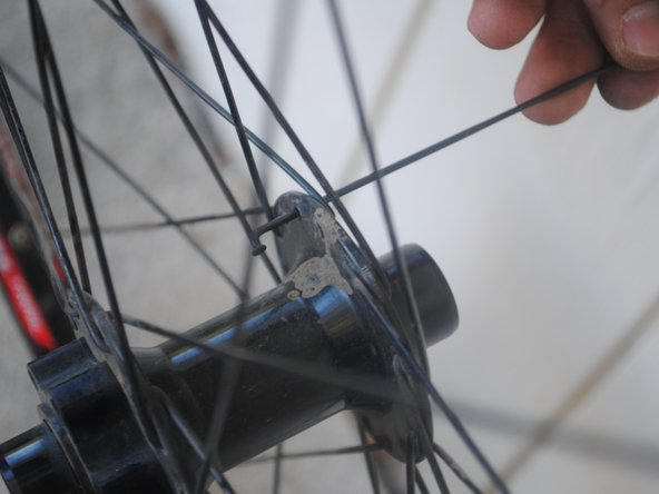 Giant Reign 2 Wheel Spoke Replacement