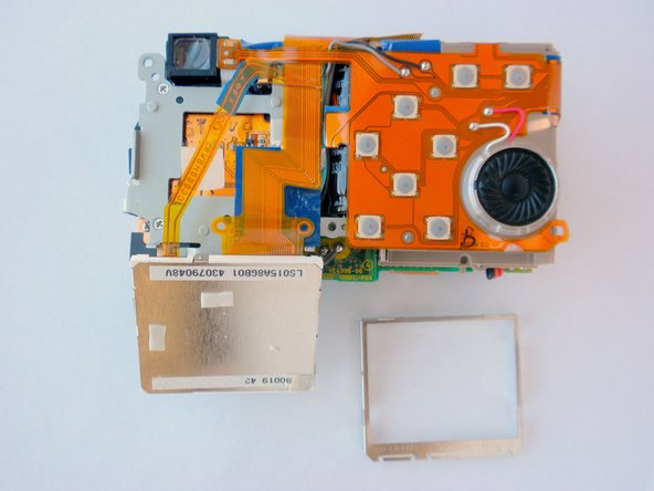 This is what the camera will look like now that the LCD screen is removed.