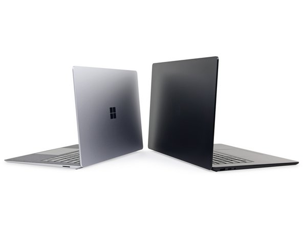 """The all-new 15"""" Surface Laptop towers over its 13.5"""" sibling. It may be bigger, stronger, and come with a custom Ryzen processor, but the 13.5"""" model has one thing the 15"""" line lacks: a nice cozy bed for your palms."""