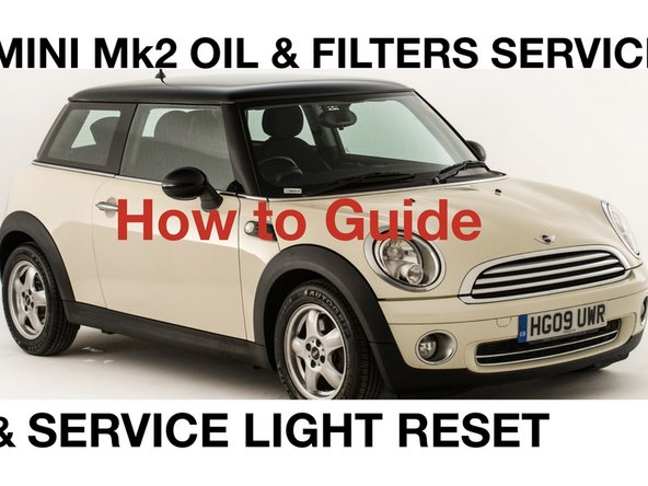 How to do an oil and filter change on a Mini