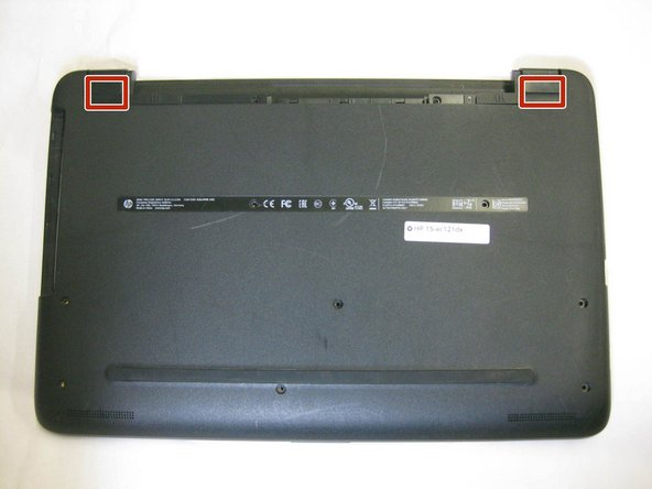 HP 15-ac121dx Back Panel Replacement