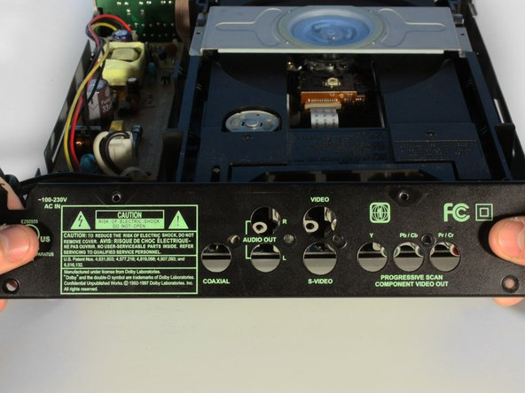 CyberHome CH-DVD 300 Back Panel Replacement