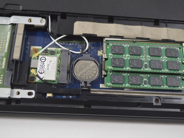 Acer Aspire 5742 CMOS Battery Replacement