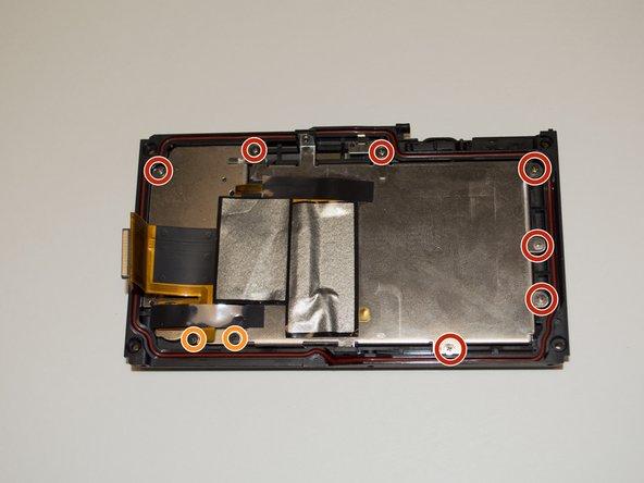 Nikon 1 AW 1 Rear Panel Replacement