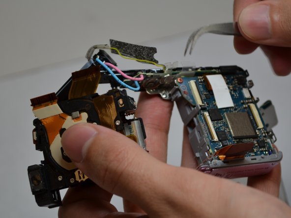 Sony Cyber-Shot DSC-W120 Lens Assembly Replacement