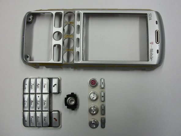 T-Mobile SDA (HTC Tornado) Front Faceplate Replacement