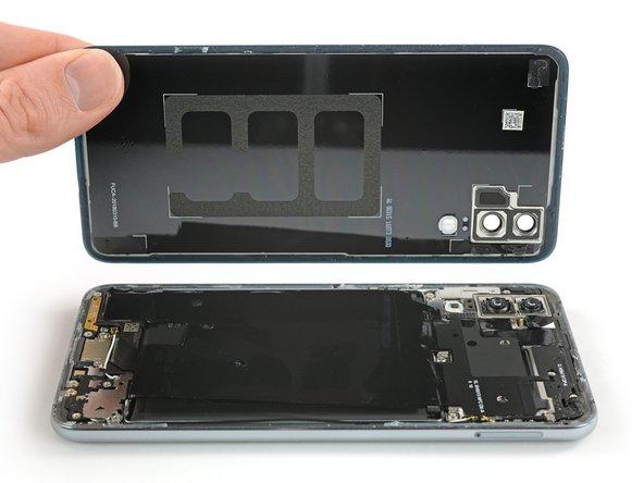 Huawei P20 Vervanging van de glazen achterkant