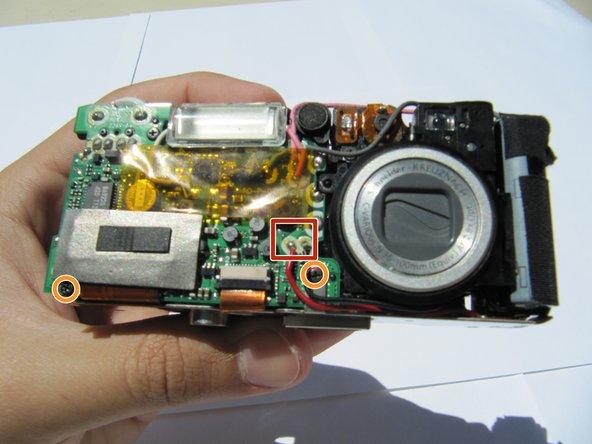 Kodak EasyShare LS743 Capacitor Replacement