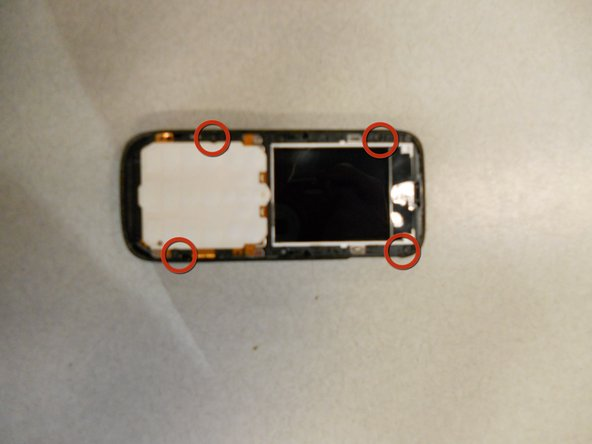 Nokia 2630b Back Case Replacement