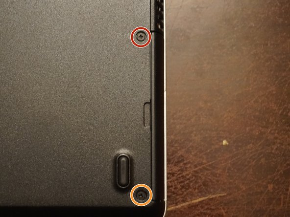 The screw marked in orange is directly screwed into the chassis. This point WILL break if overtightended.