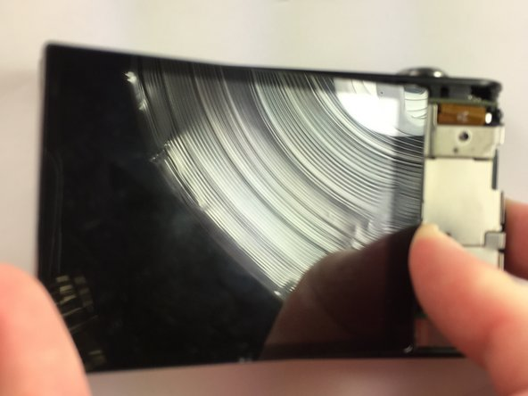 Samsung DV300F Back LCD Screen Replacement