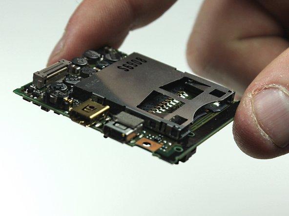 Panasonic Lumix DMC-FX07 USB Port Replacement
