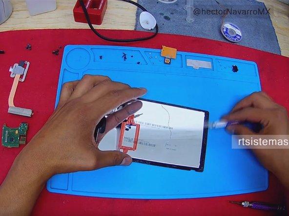 Cambio de la pantalla LCD de una Nintendo Switch