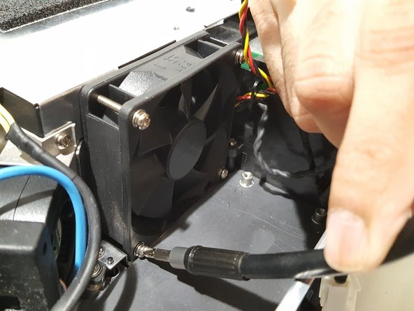 Toshiba TDP-XP2 Fan Replacement