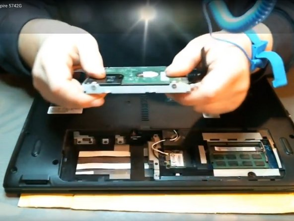 Acer Aspire 5742G HDD Replacement
