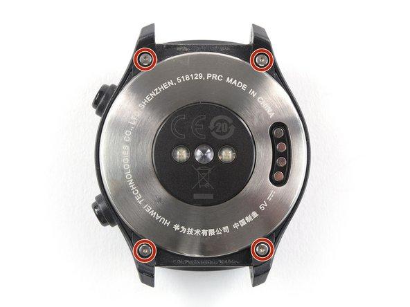 Remove the four Torx T2 screws (4.5mm length).