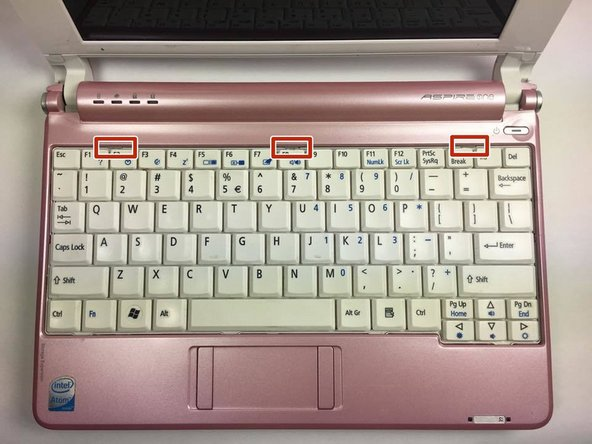 Acer Aspire One A150-1672 Individual Key Replacement