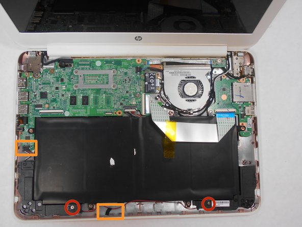 HP Chromebook 14-Q010DX Speaker Replacement