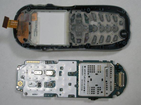 Disassembling Motorola i265 Logic Board