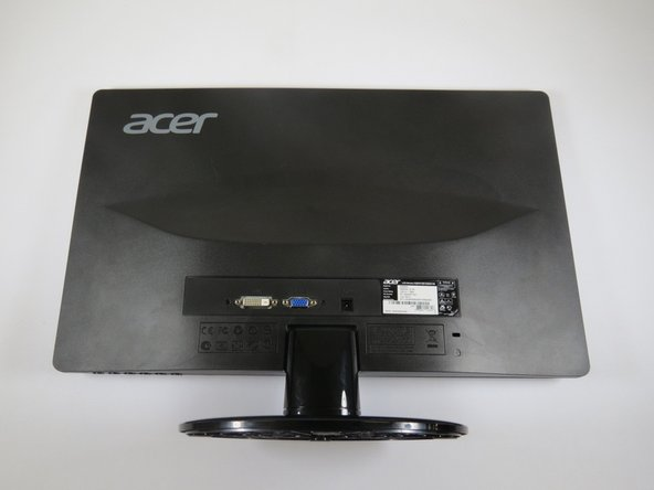 Acer S200HL LCD Monitor Motherboard Replacement