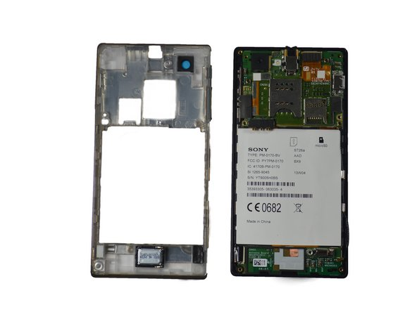 Disassembling Sony Xperia J External Features