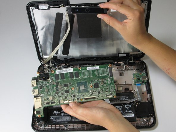 Lenovo N21 Chromebook Motherboard and Camera Replacement