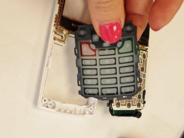 Remplacement du clavier du Samsung SPEX SCH-R210