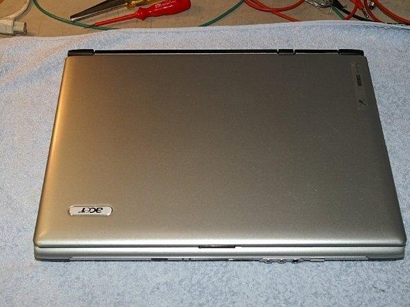 Repairing Acer Aspire 1692 WLMi Replacing Power Jack (Deutsch)
