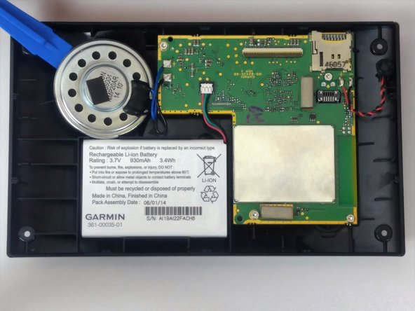 Garmin Nuvi 2589LMT Speaker Replacement