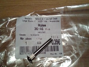 How to make your own oval screwdriver for Jura Ena