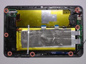 Battery & LED screen