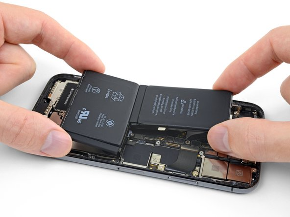 Before you begin, it's a good idea to test-fit your new battery in the iPhone.