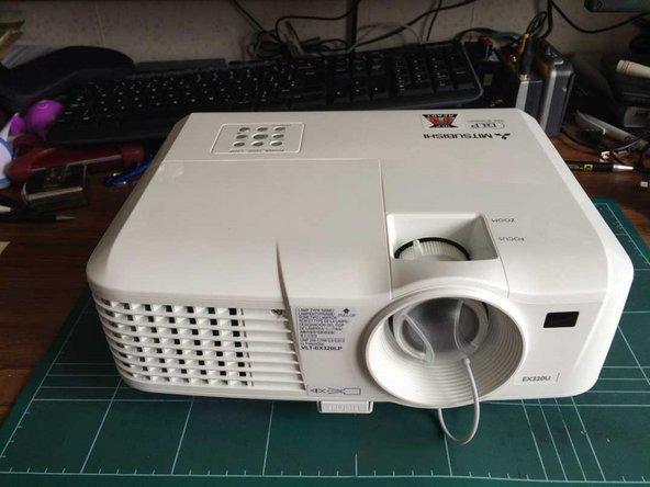 Mitsubishi EX320U Projector Disassembly