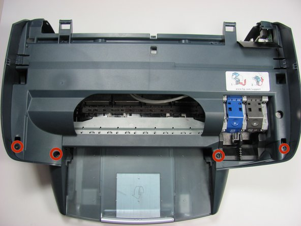 Replacing the Carriage in the Photosmart All In One Printer
