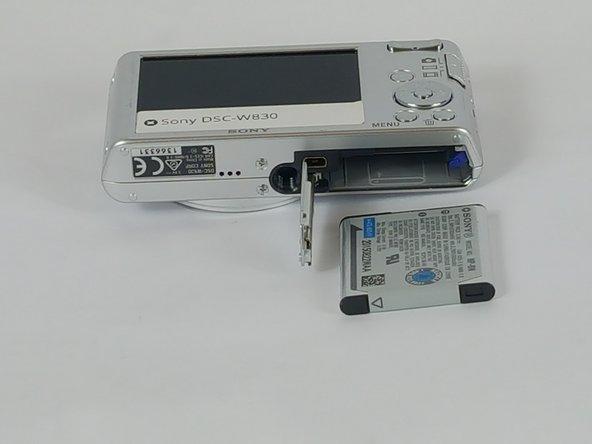 Sony Cyber-Shot DSC-W830 Battery Replacement