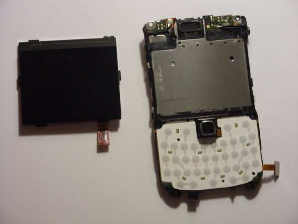 Blackberry Bold 9650 LCD Screen Replacement