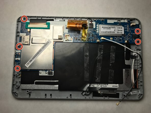 Acer Iconia B1-710 Tablet Camera Replacement