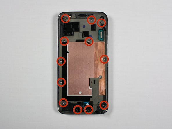 Samsung Galaxy S5 Mini Interior Midframe Assembly Replacement