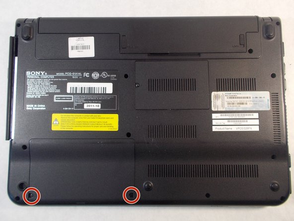 Sony Vaio PCG-61A14L Hard Drive Replacement