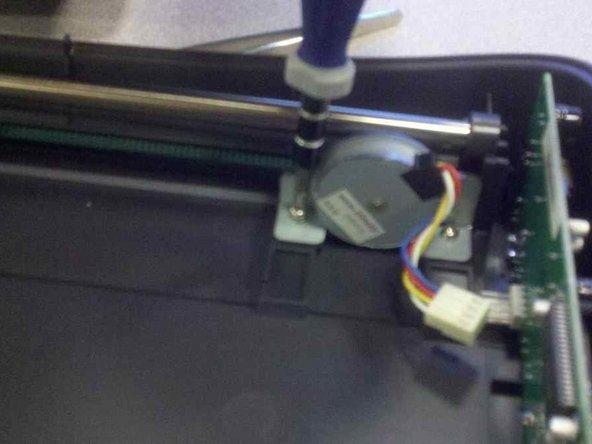 Microtek ScanMaker 5900 Stepper Motor Replacement