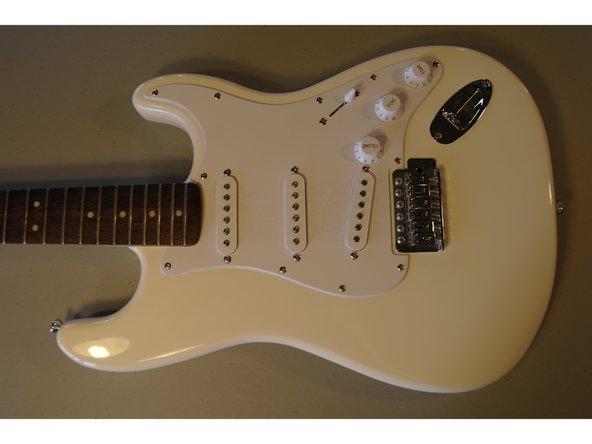 Squier Strat Guitar Pickups Replacement
