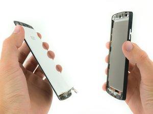 LCD und Touchscreen Einheit