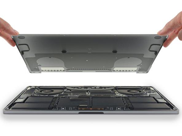 MacBook Pro (15 Zoll, 2018, Touch Bar) Gehäuseunterteil Austausch