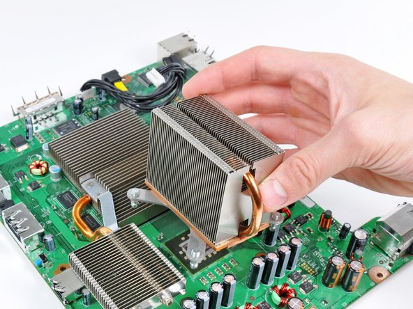 Xbox 360 CPU Heat Sink Replacement