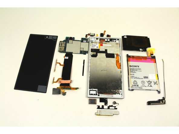 Repairing Sony Xperia Z Ultra Disassembly