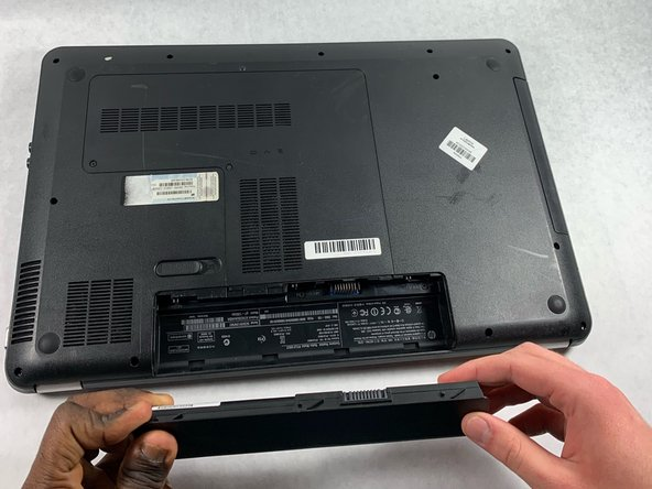 HP Pavilion g7-1365dx Battery Replacement