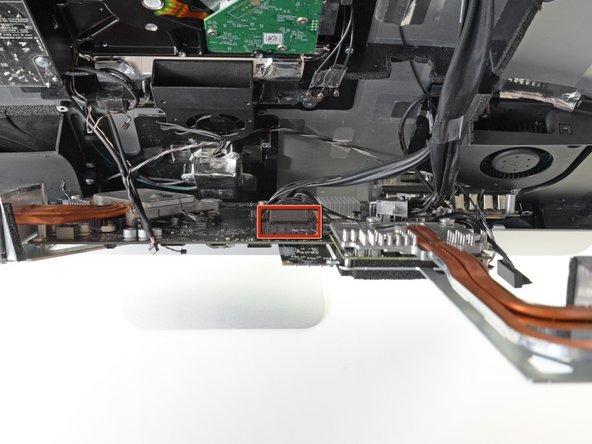 Locate the secondary SATA socket, next to the primary SATA socket.