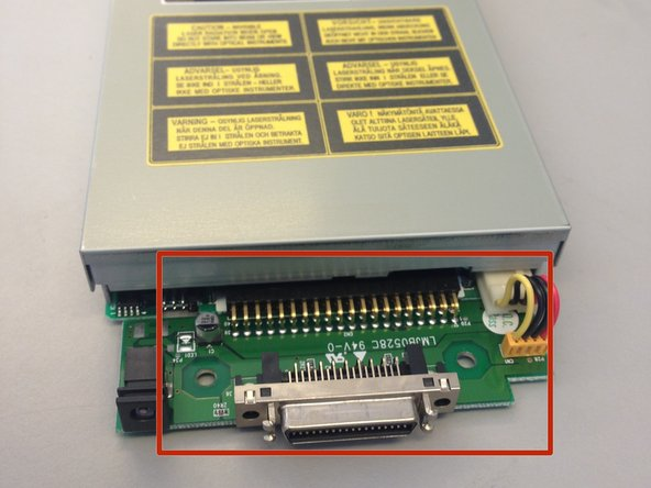 Imation Superdisk USB Drive Daughter Board Replacement