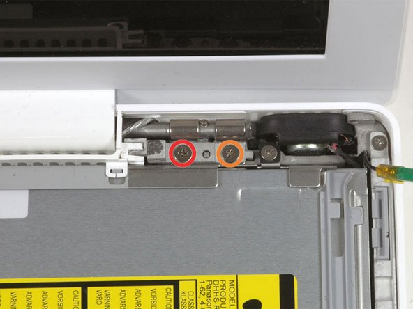 MacBook Core 2 Duo Right Hinge Mount Replacement